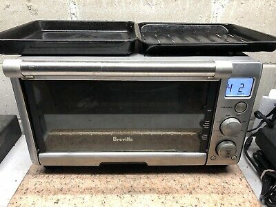 BREVILLE Compact Smart Oven, Countertop Electric Toaster ...