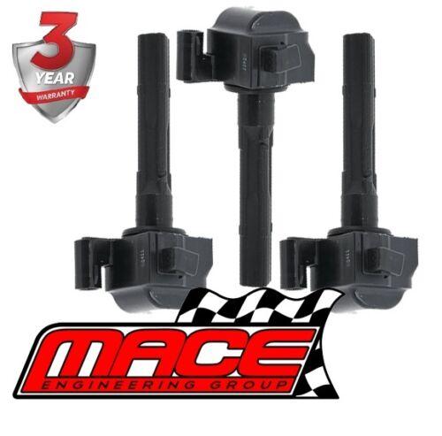 SET OF 3 MACE STANDARD IGNITION COILS FOR TOYOTA AVALON MCX10R 1MZFE 3.0L V6