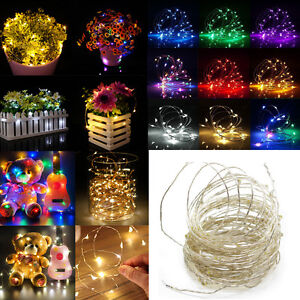 LED-String-Copper-Wire-Fairy-Lights-Battery-USB-12V-Xmas-Party-Fairy-Decor-Lamp
