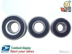 5pcs or 10Pcs 6201 / 6202 / 6203-2RS ball bearing 12x32x10 / 15x35x11 / 17x40x12