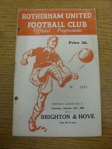21-01-1961-Rotherham-United-v-Brighton-And-Hove-Albion-Punched-Holes-Rusty-St