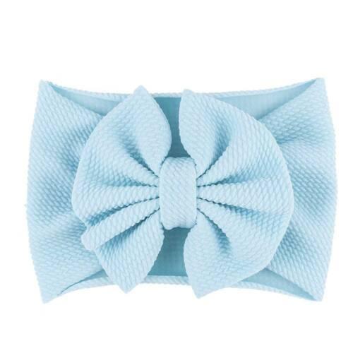 Baby Toddler Girl Kids Rabbit Bow Knot Turban Headband Hair Band Headwrap
