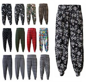 87a3340f La imagen se está cargando Nuevo-Damas-Mujeres-Alibaba-Haren-Pantalones-para -Pantalones-