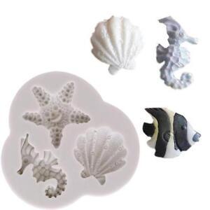 Sea-Shell-Silicone-Chocolate-Mould-Fondant-Decorating-Silicon-Soap-Mold-BL3