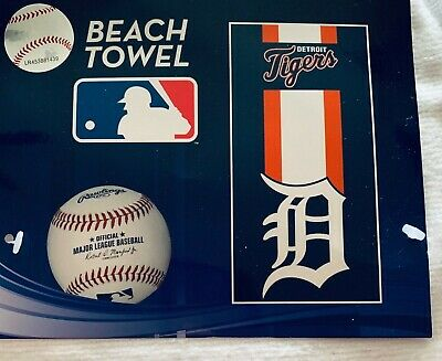 Team Color One Size WinCraft MLB Detroit Tigers Beach Towel