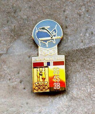 NOC Norway Lake Placid 1980 pin