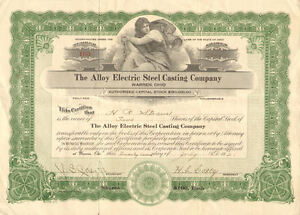 Armco Steel Corporation /> $5,000 Ohio bond certificate stock share