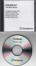 COLDPLAY The Blue Room original 1999 UK 5-trk promo test CD