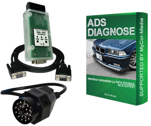 ADS-Diagnostic-Scanner-Pour-BMW-obd1-obd2-Ediabas-Inpa-Diagnostic-Appareil-rs232
