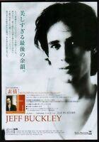 1998 Jeff Buckley photo Sketches JAPAN album promo ad mini poster advert jb06r