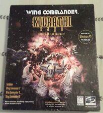 WING COMMANDER THE KILRATHI SAGA : I II III 1 2 3 PC GAME WIN 95 COMPLETE