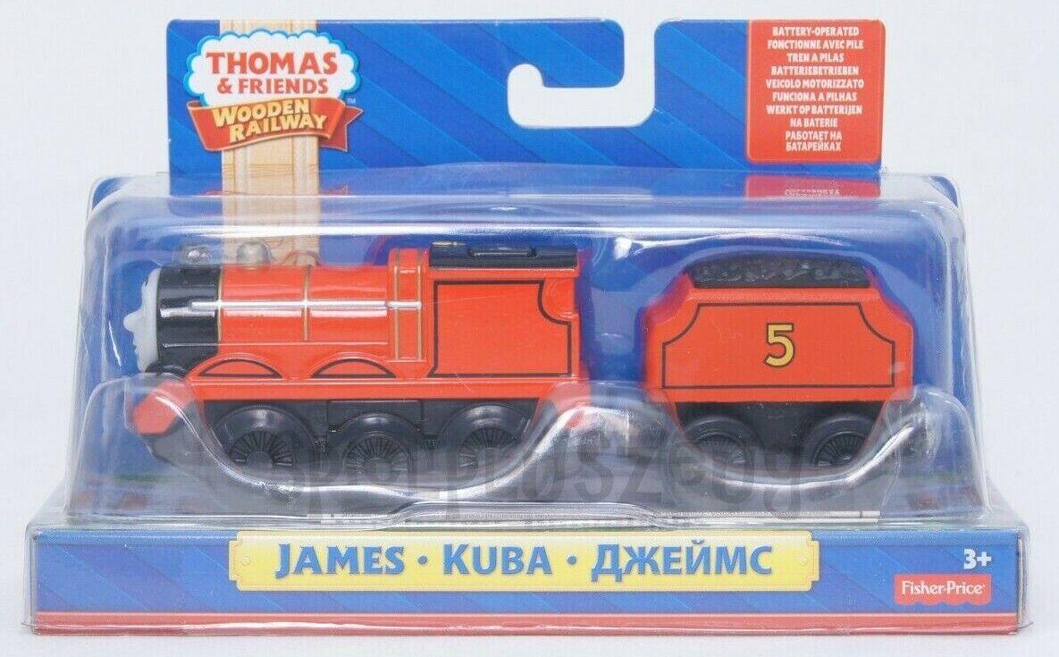 Thomas und seine Freunde James Batteriebetrieben Lokomotive NEU