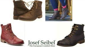 Josef Seibel Shoes Germany Leather