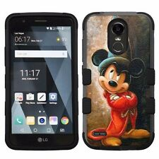 For LG Stylo 3 LS777 Hard Impact Armor Hybrid Case Mickey Mouse #Wizard T