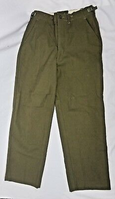 US Military Korean M-1951 WOOL FIELD TROUSERS PANTS w// Zipper ALL SIZES NEW