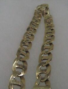 111224772c933 14k Gold Gucci-Mariner Link Mens Bracelet 9