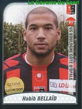 HABIB BELLAID ALGERIA US.BOULOGNE Sarpsborg 08 UPDATE STICKER FOOT 2010 PANINI