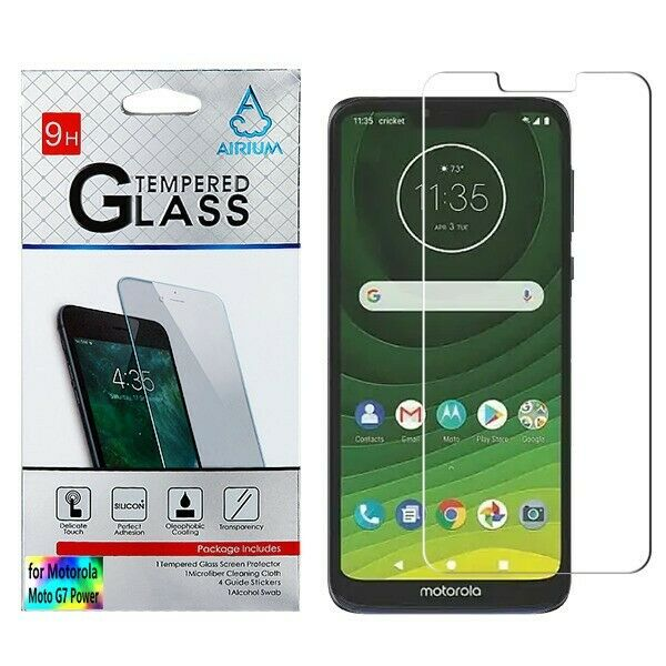 Motorola Moto G7 Power Tempered Glass Screen Protector For Sale Online Ebay