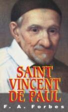 Saint Vincent de Paul by F. A. Forbes (1999, Paperback)