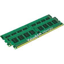 2x 2GB = 4GB RAM PC Speicher DDR2 667 Mhz PC2-5300U 2x KVR667D2N5/2G DIMM