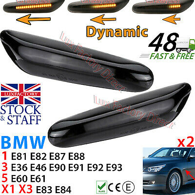 04-09 BMW 5-Series E60 E61 Side Marker Lights Repeaters