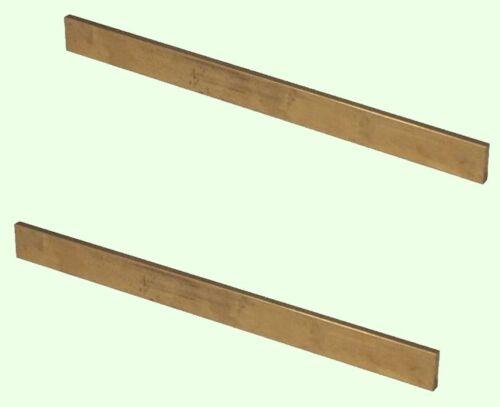 "2 - Lengths Brass Flat Stock 1//8/"" x 3//8/"" x 3/' 36/"" Long Solid 360 Alloy Mill"