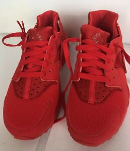 new styles 70f12 8c9fd NIKE AIR HUARACHE RUN GS UNIVERSITY RED 654275 600 Size 5.5Y New In ...