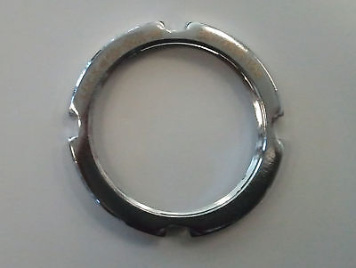 JOYTECH COG LOCKRING SILVER Track Fixed Gear Hub Lock Ring 1.29x24 tpi Left