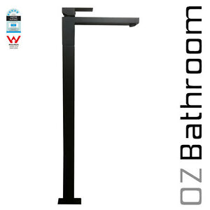 WELS-Square-Freestanding-Bath-brass-Black-chrome-tap-mixer-spout-watermark