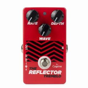 Caline-CP-62-Reflector-Tremolo-Guitar-Effects-Pedal