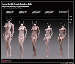 1//6 TBLeague Old Phicen Steel Skeleton Seamless Suntan Mid Bust S27B Female Body