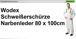 Np 32,30€ Kaufen Sie Immer Gut Wodex Schweißerschürze Narbenleder 80 X 100cm Top Qualität Ware Metallbearbeitung & Schlosserei Kleidung