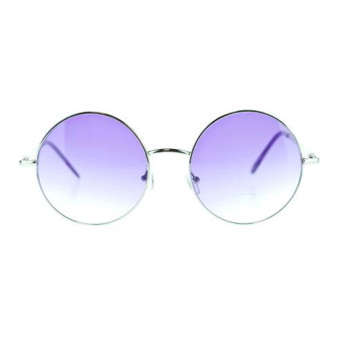 Oceanic Bright Lens Womens XL Oversized Round Circle Lens Retro 70s Sunglasses