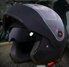 NWT Black DOT Modular Motorcycle Helmet w/Bad Ass Bluetooth Headset 1200M
