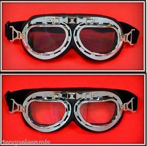 Pack-2-Paar-Brille-Sonnenbrille-T-010-T-013-Motorrad-Solex-Motorradfahrer