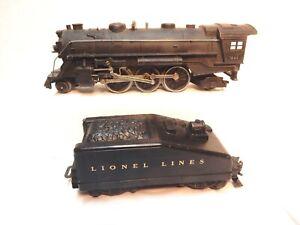Vintage-Lionel-1666-Die-Cast-Steam-Engine-2-6-2-wth-Slope-Back-Lionel-Linestndr