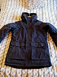 pre order factory authentic sale uk Details about BRAND NEW JACK & JONES 3 TECH WATERPROOF & WINDPROOF BLACK  JACKET LARGE