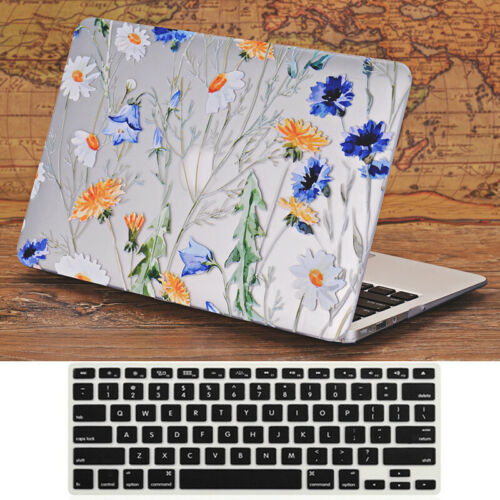 "2in1 Marble Matte Hard Case Film Shell for 2013-2015 MacBook PRO 13/""A1425 A1502"
