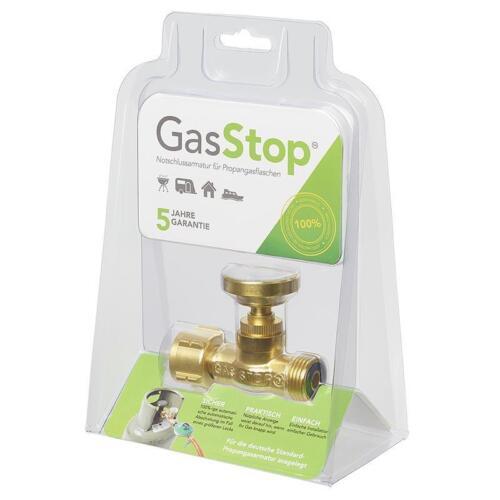 Gasstop gaz Stop notschlussarmatur le propane Sécurité Rupture sauvegarde Grill