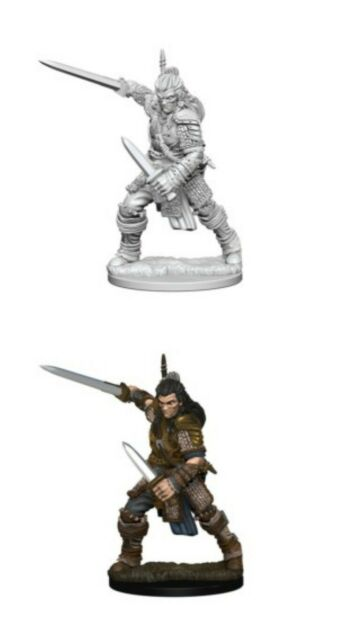 Pathfinder Unpainted Minis Wv1 Human Male Fighter New Miniatures RPG