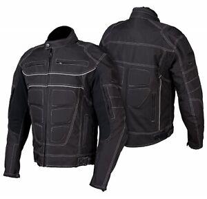 Motorradjacke-Innenfutter-und-Membran-herausnehmbar-Textil-Motorrad-Jacke
