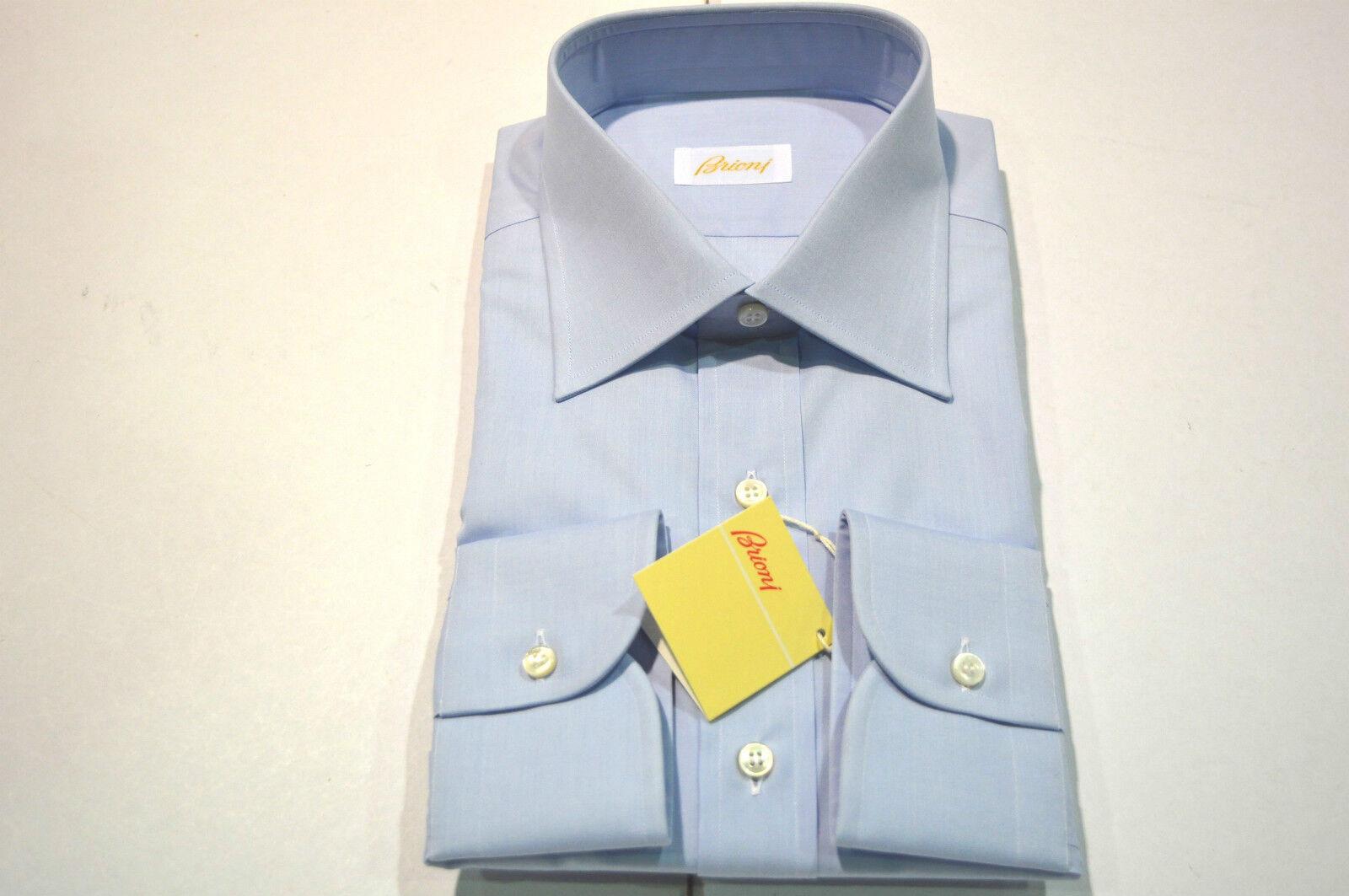 NEW  BRIONI Dress hemd 100% baumwolle Größe 15.5  Us 39  Eu (Cod GE 5)
