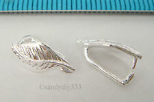 5pcs Tibetan Silver Big Leaves Charms Pendant for Jewelry Making 105mm ABF182
