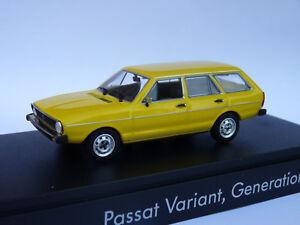 VW-Volkswagen-Passat-Variant-B1-break-de-1977-au-1-43-de-Minichamps