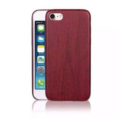 Aktiv Wood Case + Screen Protector 360 Protection Apple Iphone 6s Mahogany Tpu Soft