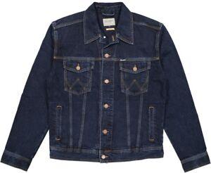 203db228 Wrangler Men's Jean Jacket Size S to XXXL Selectable Blue-black 1st ...