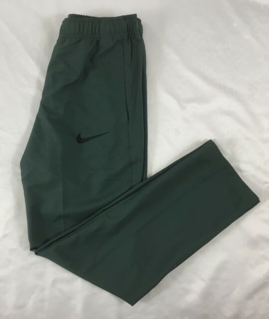 9aa69bd3c58e Nike Mens Dry Team Woven Training Pants Vintage Green Black 800201 ...