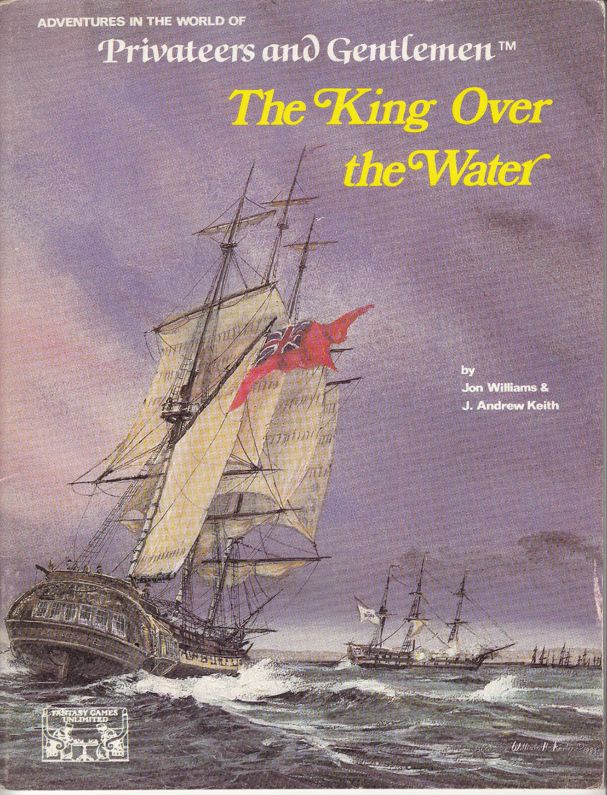 Privateers and Gentlemen - The King Over the Water - FGU 5402 RPG ENG NEW