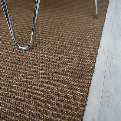 Super Sisal Teppich Läufer MELL Struktura 7079k grob hellbraun/grau 67 cm breit