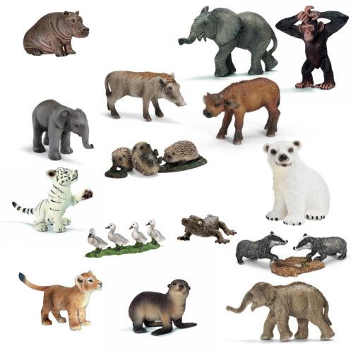 Schleich Wild Life Figur Flusspferd Elefanten Dachse Löwe Eisbär Raritäten NEU